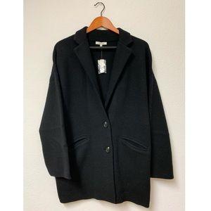 Madewell Merino Wool Blend Blazer Sweater Jacket